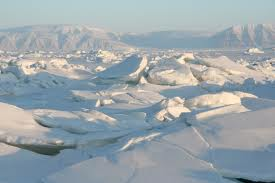 Ice is cracking and breaking everywhere across the Arctic circle.